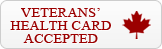 Veterans' Health Card Accepted